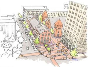 Lancaster Streetscape Improvements - Lancaster PA