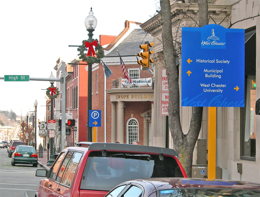 West Chester Wayfinding Project